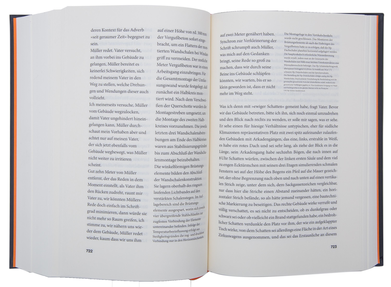 Buchgestaltung Satz