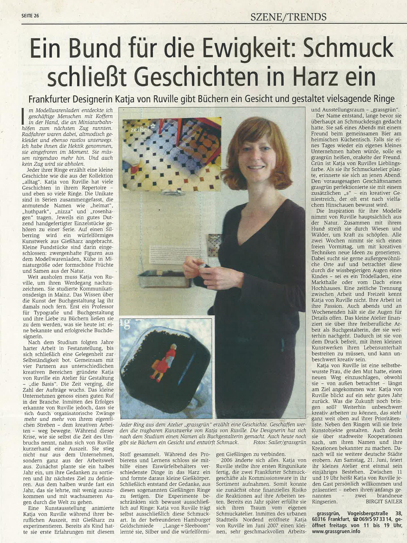 vonRuville_Presse_2008-06_Schmuck_Offenbach_Post