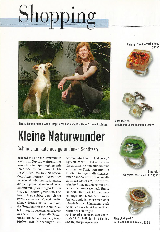 vonRuville_Presse_2009-05_Schmuck_Journal_Frankfurt