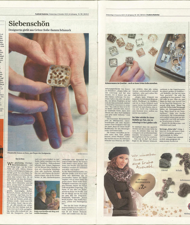 vonRuville_Presse_2010-12_Schmuck_Frankfurter_Rundschau