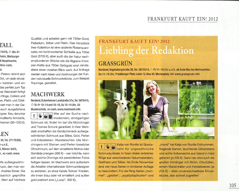 vonRuville_Presse_2012_Schmuck_Frankfurt_kauft_ein